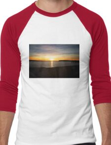 Beach Sunset Men's Baseball ¾ T-Shirt