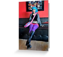 Ramona Flowers Greeting Card