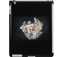 "Kobe Bryant - ""Legends Never Die"" iPad Case/Skin"
