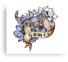 We Are Gamers Canvas Print