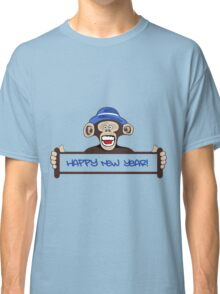 Funny Monkey, New Year, Animal Classic T-Shirt