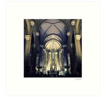Church of St Anthony (Istanbul) Art Print