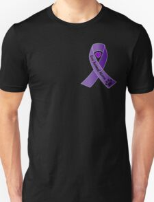 End Animal Abuse Ribbon Unisex T-Shirt