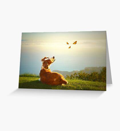 Simple pleasures..... Greeting Card