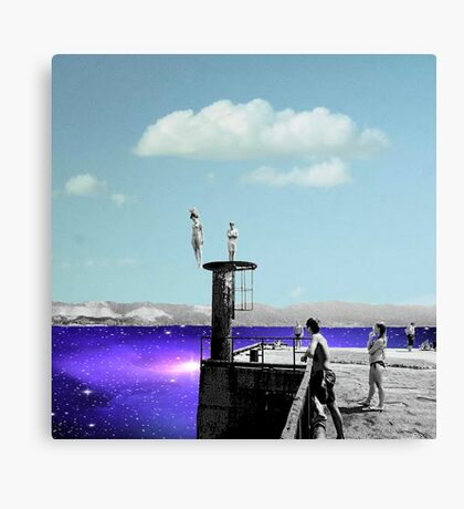take the Plunge Canvas Print