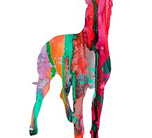Great Dane 11 by Watercolorsart
