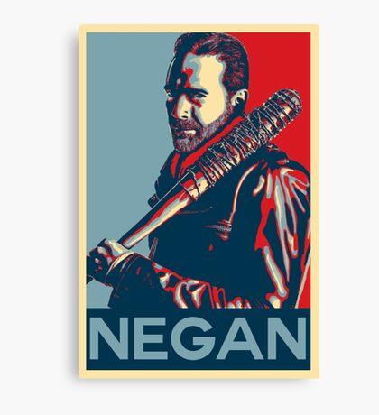 Negan & Lucille  Canvas Print