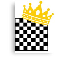 Chess King Canvas Print