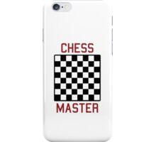 Chess master iPhone Case/Skin