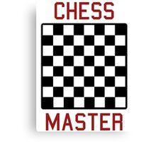 Chess master Canvas Print