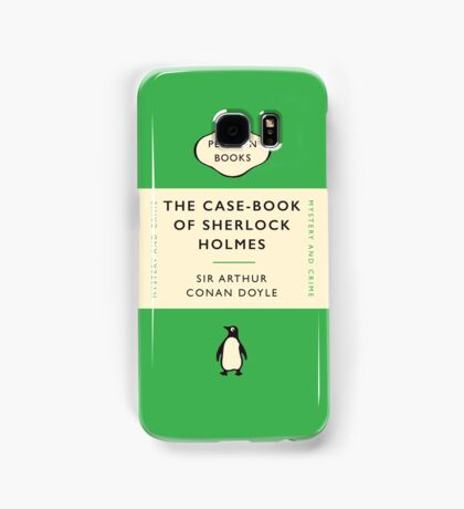 Penguin Classics The Case-Book of Sherlock Holmes Samsung Galaxy Case/Skin