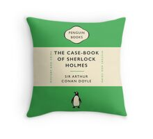 Penguin Classics The Case-Book of Sherlock Holmes Throw Pillow