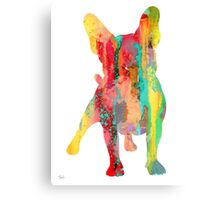 French Bulldog 9 Canvas Print