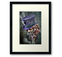 The Hatter Is Quite Mad Framed Print