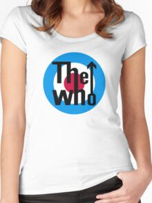 The Who Logo Women's Fitted Scoop T-Shirt