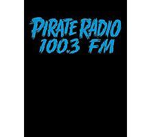 Pirate Radio - 100.3 FM - Shirt Photographic Print