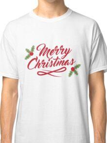 Merry Christmas Apparel #1 Classic T-Shirt