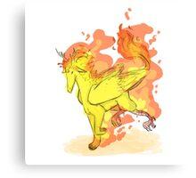 Fire Bird 3 Canvas Print