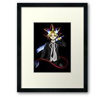 Yami Yugi ao no exorcist Framed Print