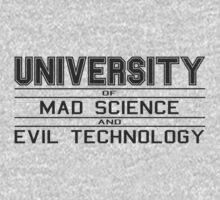 University of Mad Science and Evil Technology by Stelera