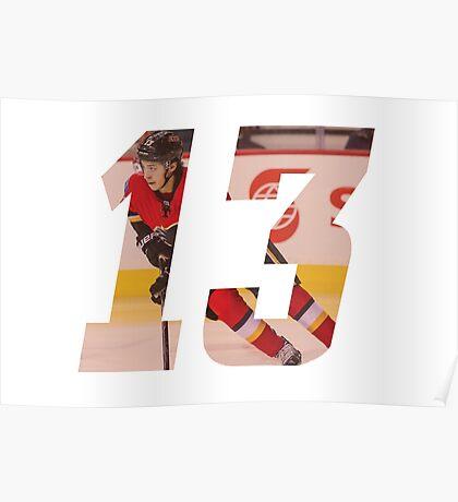 #13 - Johnny Hockey Poster