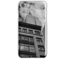 View On Empire State Building   New York City, New York iPhone Case/Skin