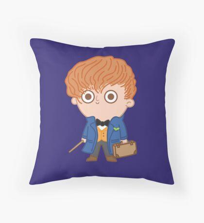 Newt Throw Pillow