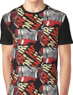 Iron Man Design Graphic T-Shirt