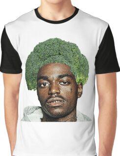 Kodak Black Broccoli Head- Transparent Background Graphic T-Shirt