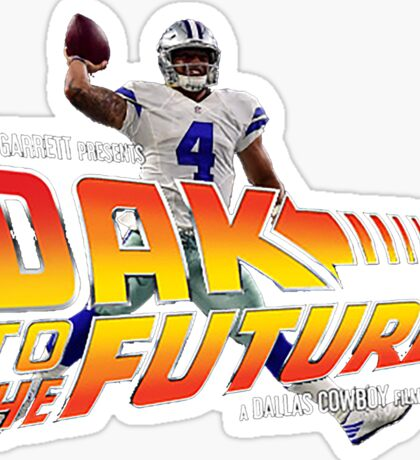 Dak to the Future Sticker