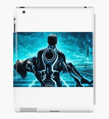 Tron Legacy multi monitor - Artwork iPad Case/Skin