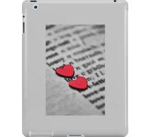 ♥ book series: Love iPad Case/Skin