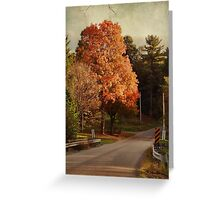 Brilliant Fall Beauty Greeting Card