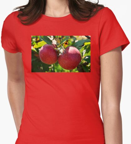 Apples, Apples, Apples Womens Fitted T-Shirt