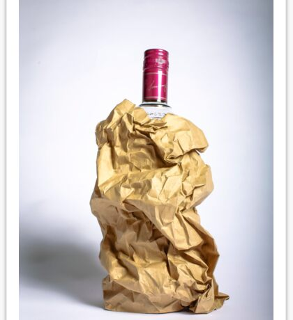 Alcohol/Shameless Sticker