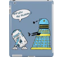 are you my mummy? (sketch) iPad Case/Skin
