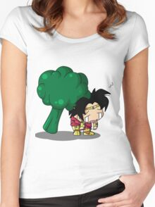 Brolly Broccoli Women's Fitted Scoop T-Shirt