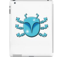 Blue Beetle Scarab iPad Case/Skin