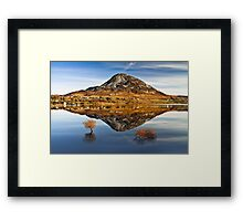 Tranquil Errigal - Ireland Framed Print