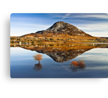 Tranquil Errigal - Ireland Canvas Print