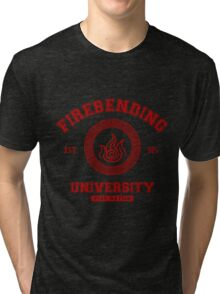 Firebending Red Tri-blend T-Shirt