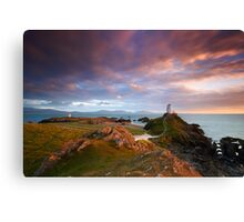 Llanddwyn Light Canvas Print
