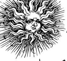 The Doors lyrics - take it As It Comes - Arrows Sun Vintage Design Sticker
