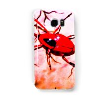 Red insect.  Samsung Galaxy Case/Skin