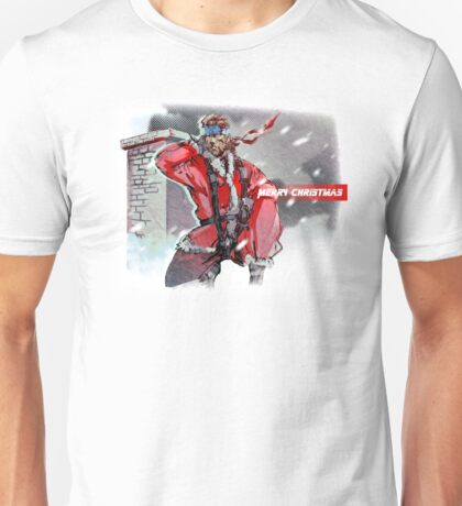 Merry Christmas - Metal Gear Solid Unisex T-Shirt