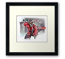 Merry Christmas - Metal Gear Solid Framed Print