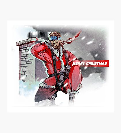 Merry Christmas - Metal Gear Solid Photographic Print