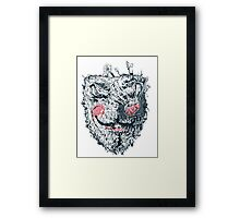 v for vendetta Framed Print
