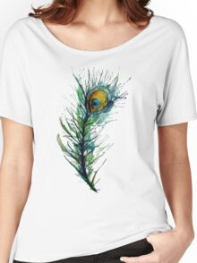 peacock rainbow. Women's Relaxed Fit T-Shirt