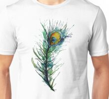 peacock rainbow. Unisex T-Shirt